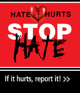Click-through link to Hate-Bias Report Form